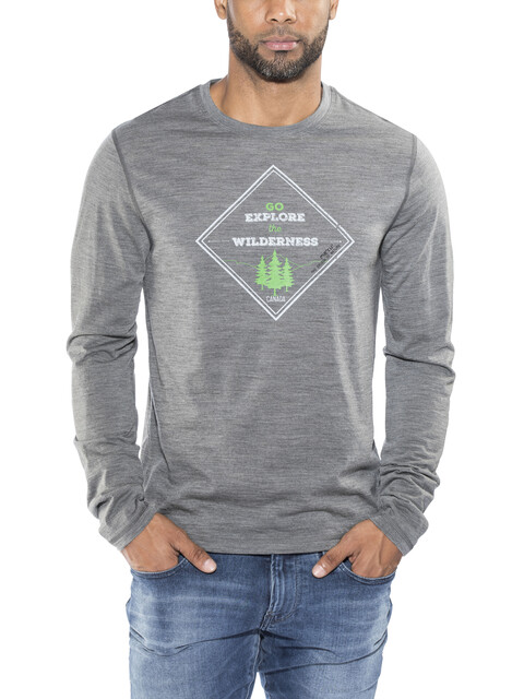 Meru Akka LS Shirt Men anthracite